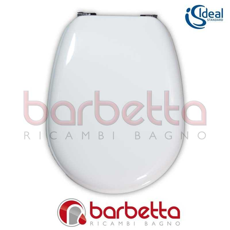 Sedile Copriwater Ideal Standard.Sedile Copriwater Ideal Standard Liuto Bianco T626201 Ebay