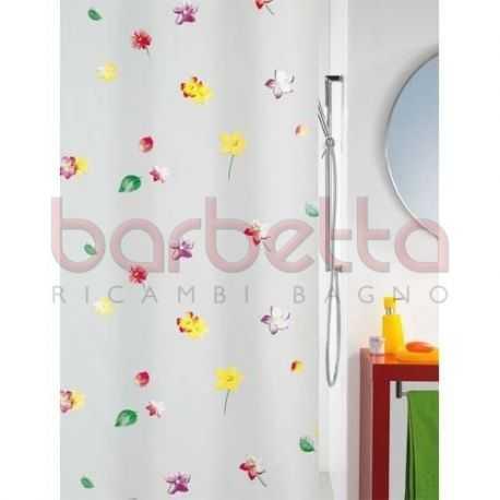 Tenda per doccia in PEVA multicolor cm 180x200