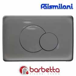 PLACCA FAISMILANI DOPPIO TASTO CROMO LUCIDA 5102810002