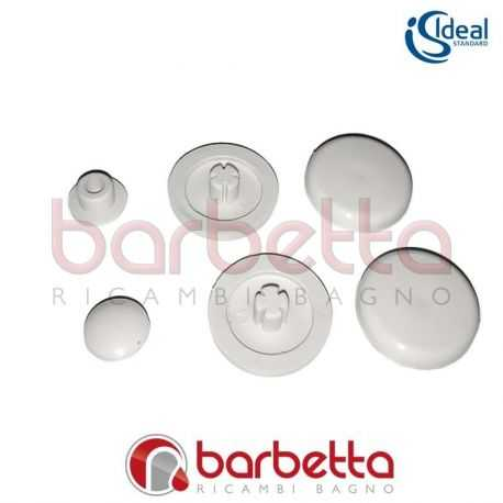 Paracolpi gommini copriwater ideal standard t623901 for Copriwater ideal