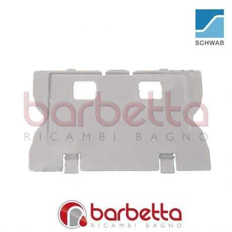 SUPPORTO PLACCA SCARICO PER INCASSO ES80 SCHWAB 670075