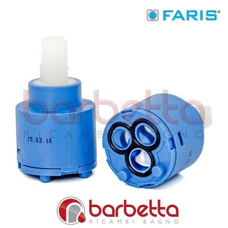 Cartuccia ceramica ricambio faris rubinetterie 1130 - Barbetta ricambi bagno ...