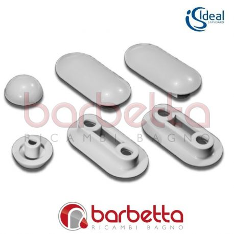 Paracolpi gommini copriwater ideal standard k802400 for Copriwater ideal standard