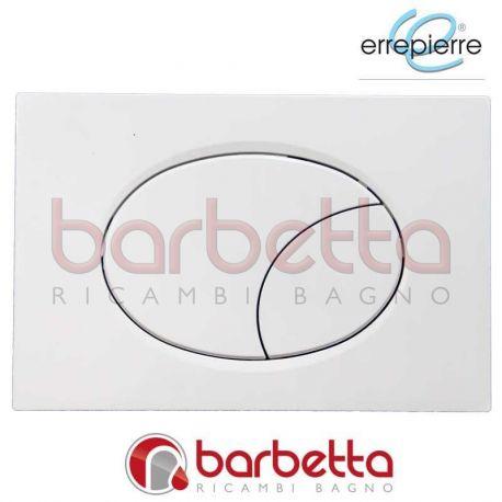 PLACCA DI COMANDO ELEGANCE DOPPIO TASTO BIANCO ERREPIERRE ST020BB
