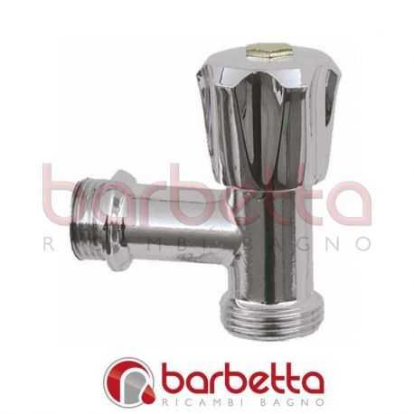 RUBINETTO PER LAVATRICE A SQUADRA 023780405