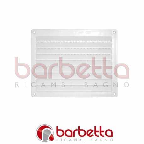 GRIGLIA DI AERAZIONE in plastica mm 120x360 bianca