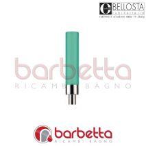 LEVA STILO LUNGA VERDE SATINATO CON INSERTO RICAMBIO BELLOSTA 01-014006-48