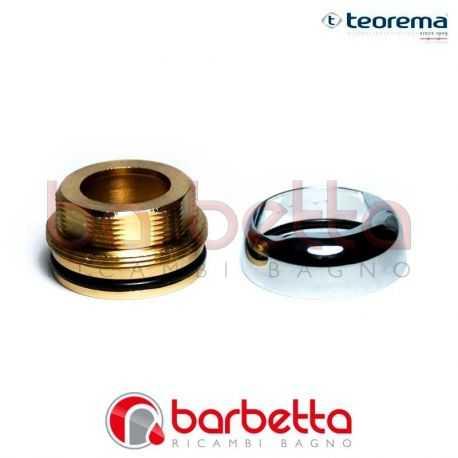 GHIERA FERMA CARTUCCIA CON COPRIGHIERA CROMO TEOREMA 0124611