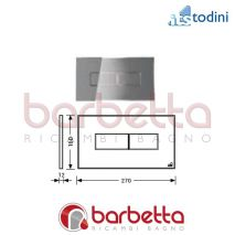PLACCA STYLE ARGENTO ITS TODINI 20.15/S/AR