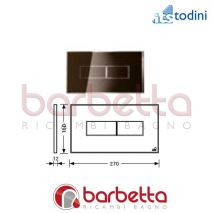 PLACCA STYLE BRONZO ITS TODINI 20.15/S/BR