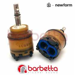 CARTUCCIA RICAMBIO D.25 ST231 ASTA METALLO NEWFORM 25925