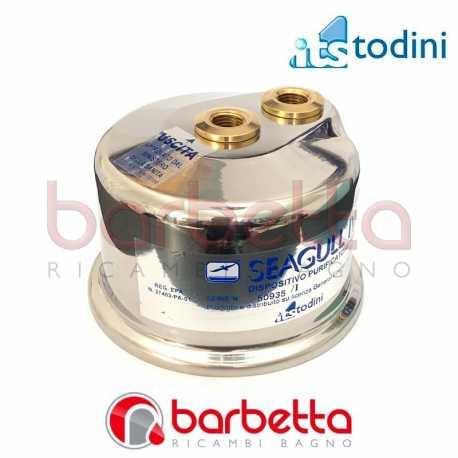 CALOTTA SUPERIORE X-1D COMPLETA RICAMBIO ITS TODINI 10.38/CD