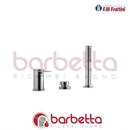 BATTERIA PER BORDO VASCA GAIA FRATTINI 55028