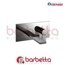 BATTERIA LAVABO A PARETE SENZA SCARICO GAIA FRATTINI 55034