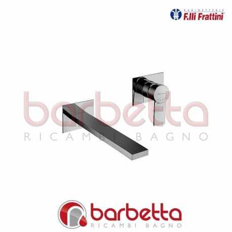 BATTERIA LAVABO A PARETE SENZA SCARICO GAIA FRATTINI 55034A