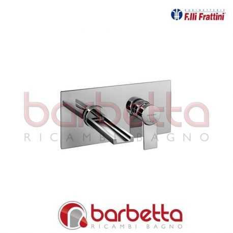 BATTERIA LAVABO A PARETE A CASCATA SENZA SCARICO GAIA FRATTINI 55033