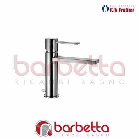 MONOCOMANDO PER LAVABO CON SCARICO GAIA FRATTINI 55054