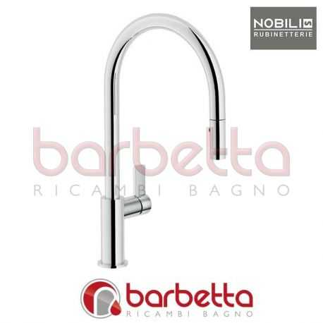 Cromo Nobili rubinetterie FL96137CR Miscelatore Lavello ...