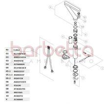 RICAMBIO COPPIA TUBI FLEX NOBILI RTUK203/116