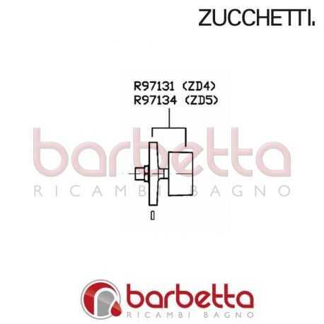 MANIGLIA ROSONE ZD4 ZUCCHETTI R97131