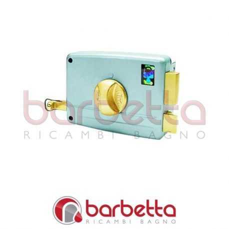SERRATURA PORTONCINO SERIE 7600 VIRO 7601.712 E40 Dx - scatola mm 80x92