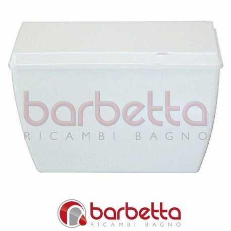 CASSETTA ALTA PVC CON CATENELLA E COPERCHIO ALFA 1041