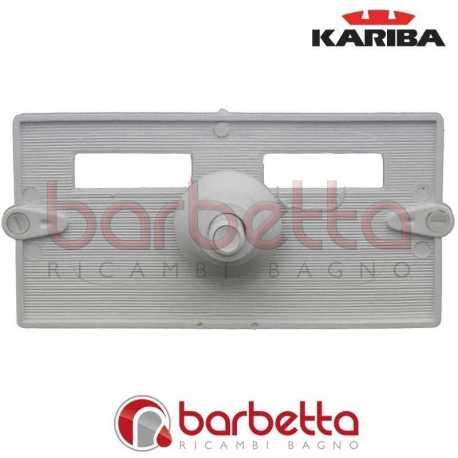 FINESTRA COMPLETA SERIE 75 CON PULSANTE BIANCO KARIBA 312309