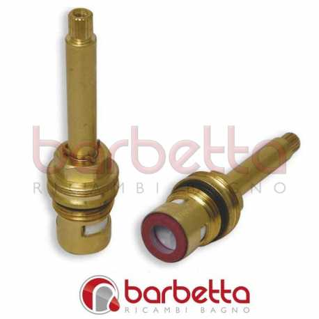 "VITONI 1/2""CERAMICI 180° ASTA mm.57-BR.8x20-DX"