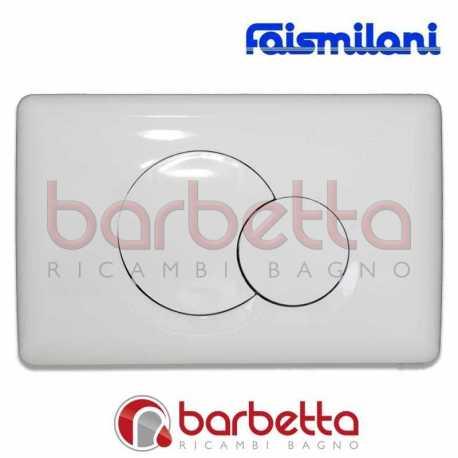 PLACCA FAISMILANI DOPPIO TASTO BIANCA 5102810