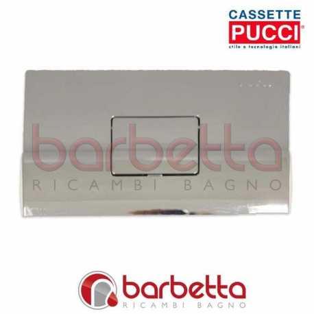 PLACCA PUCCI SARA QUADRO PARETE CROMO LUCIDA UN PULSANTE 80000612