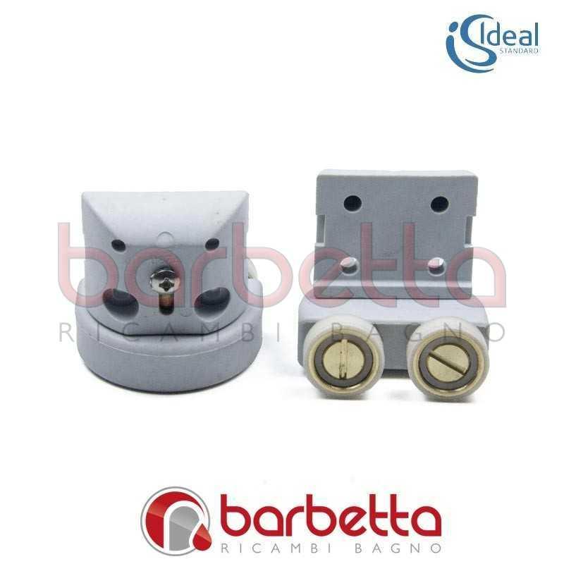 Kit cuscinetti e ruote ricambio tipica r ideal standard for Ricambi box doccia cuscinetti