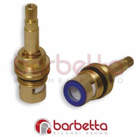 """VITONI 1/2"""" CERAMICI 90° ASTA mm.39.2-BR.8x20-DX FILETTO SUPERIORE 24x1"""