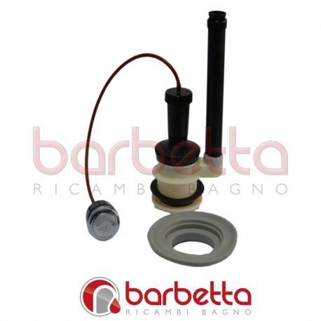 Meccanismi di scarico in plastica con pulsante e kit mbl