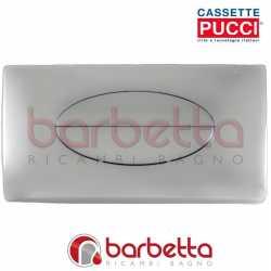 PLACCA PUCCI SARA A PARETE CROMO LUCIDO A UN PULSANTE 80006912