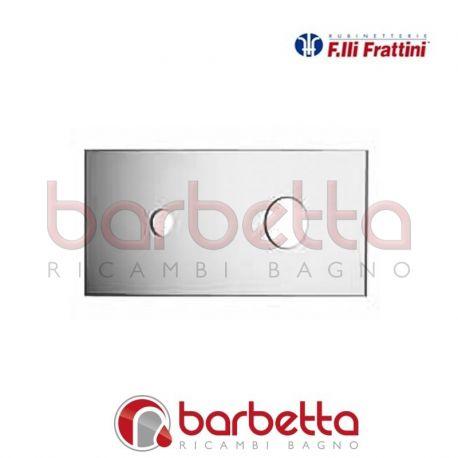 PIASTRA PER BATTERIA LAVABO A PARETE A CASCATA GAIA FRATTINI R19036