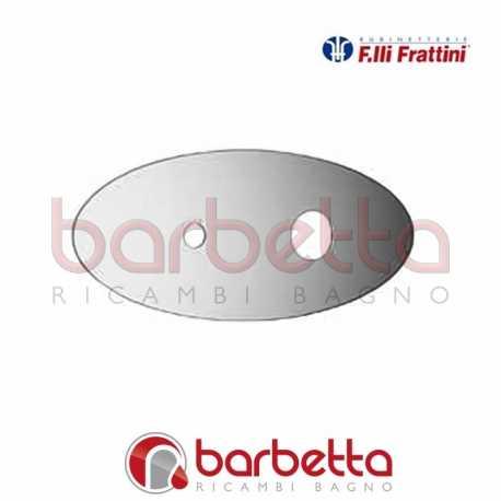 PIASTRA BATTERIA LAVABO A PARETE DELIZIA FRATTINI R19015