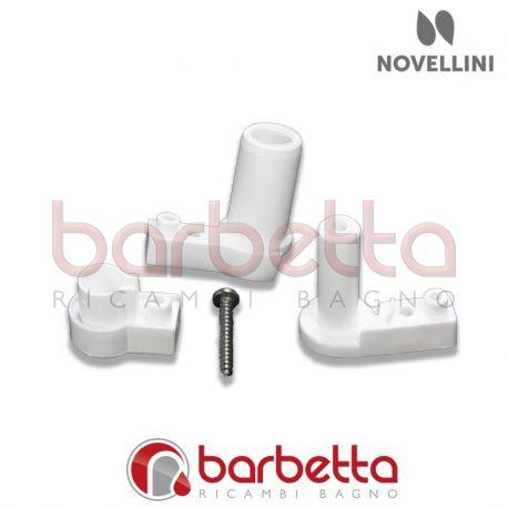 Ricambi Box Doccia Novellini.Confezione Cerniere Di Ricambio E Tappi Novellini R04pet 26