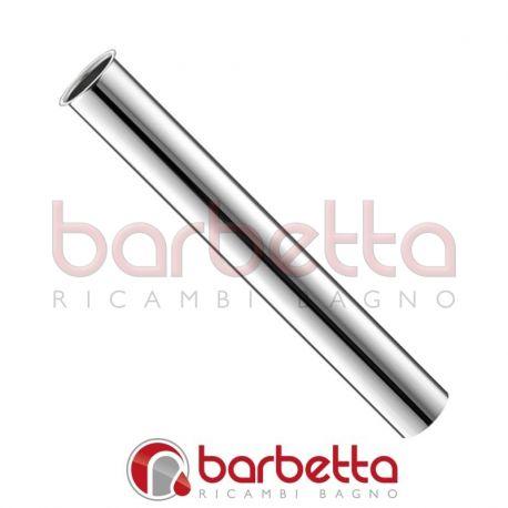 TUBO CANOTTO CON BATTENTE D.30 CROMATO