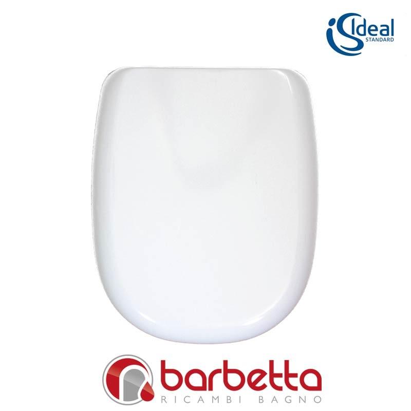 Sedile Tesi Ideal Standard Bianco Europa.Sedile Copriwater Ideal Standard Tesi Bianco T670701