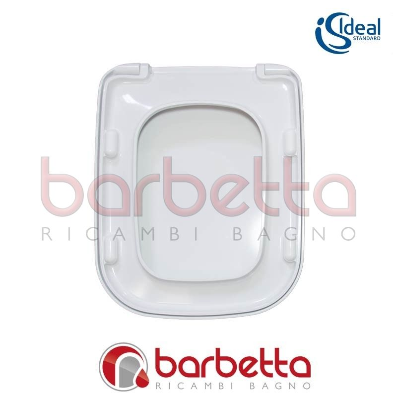 Sedile copriwater ideal standard conca bianco t637801 for Copriwater conca ideal standard originale