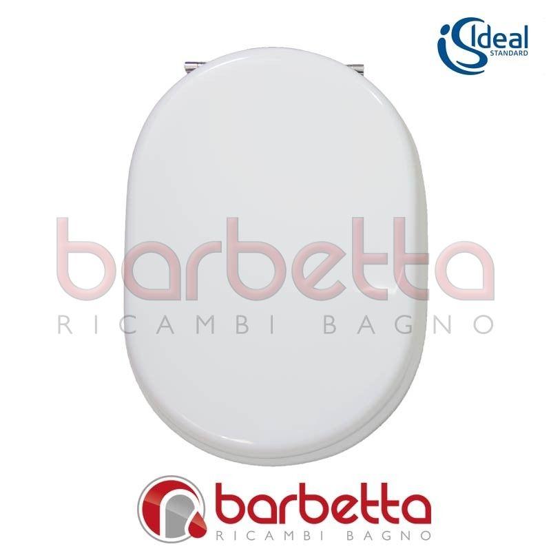 Sedile Fiorile Ideal Standard.Sedile Copriwater Fiorile Ideal Standard Bianco Europeo T628701