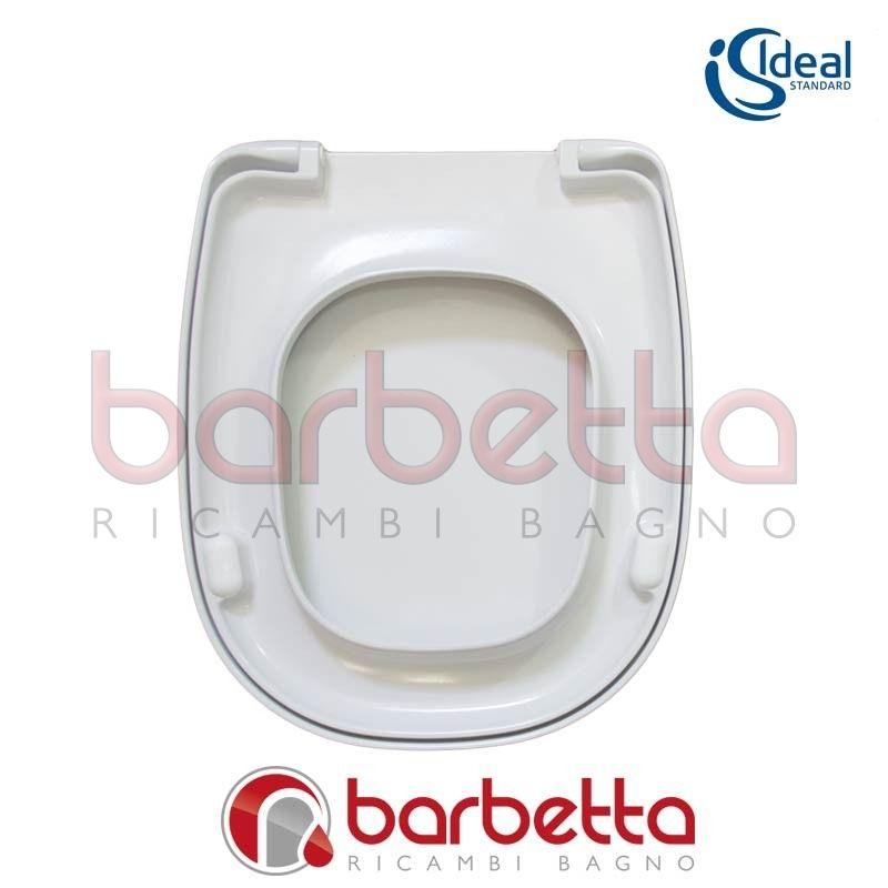 Sedile copriwater ideal standard tesi bianco t663001 for Copriwater ideal standard esedra