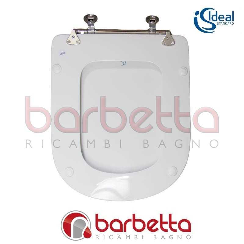 Sedile copriwater ideal standard calla bianco t627801 for Calla ideal standard scheda tecnica