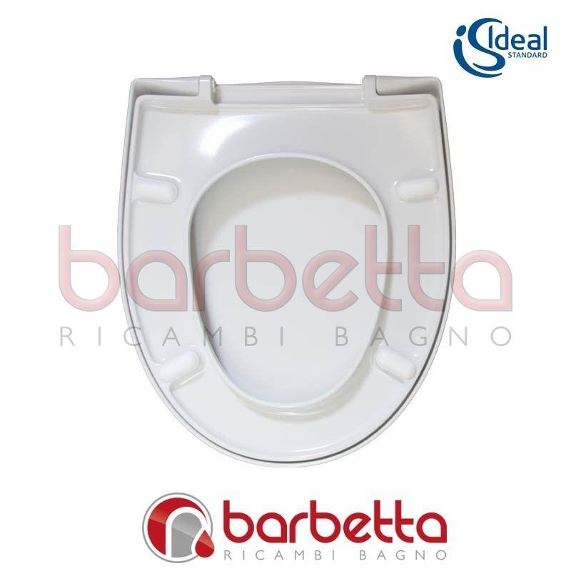 Sedile Wc Ideal Standard Serie Tonda.Sedile Copriwater Ideal Standard Ala Bianco T662701