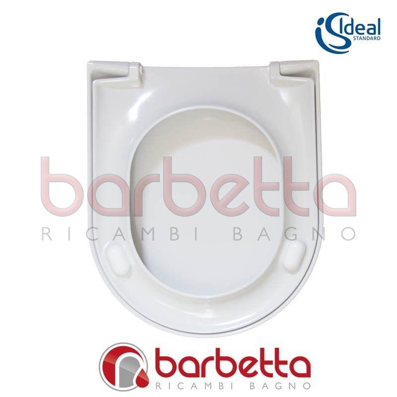Sedile copriwater ideal standard esedra bianco t627701 for Copriwater ideal standard esedra