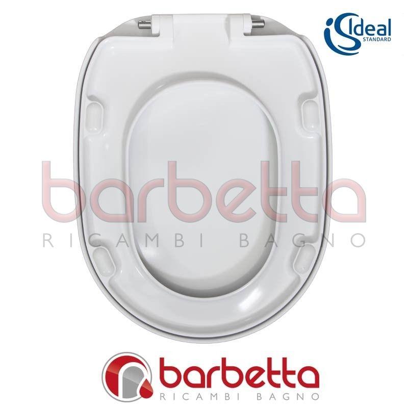 Sedile Wc Ideal Standard Linda.Sedile Copriwater Ideal Standard Linda Bianco T635101