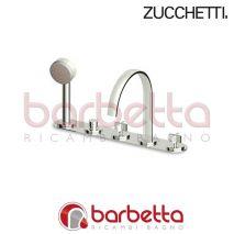 BATTERIA B.VASCA ISYFRESH CON DEVIAT.3 VIE ZUCCHETTI ZD5447